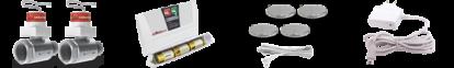 Система защиты от залива антипотоп Аквасторож КЛАССИКА 2*15