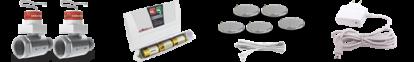 Система защиты от залива антипотоп Аквасторож КЛАССИКА 2*20