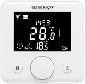 Программируемый терморегулятор электронный Mondial Series W330 Grand Meyer с функцией Wi-Fi