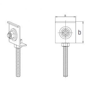 Монтажный элемент REHAU для сифона или отвода канализации 137345001 Сталь