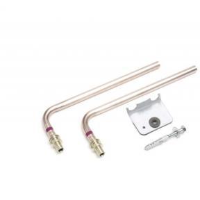 Комплект Г-образных трубок REHAU RAUTITAN 16 L=250 для подключения к радиатору 266372001 Нерж.сталь