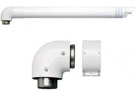 Комплект для горизонтального прохода через стену 80/125 мм к котлам TurboTec