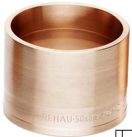 Надвижная гильза кольцо REHAU RAUTITAN MX 50 139771002 Латунь