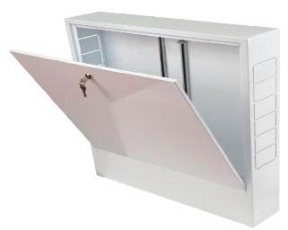 Распределительный шкаф REHAU AP 130/1005 для открытого монтажа 347430001 Сталь