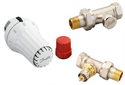 Комплект термостатический, 3 эл., RAE + RA-N + RLV-S 1/2
