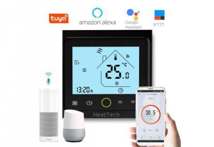 Сенсорный программируемый терморегулятор HeatTech HTW126-240 с WiFi (Южная Корея)