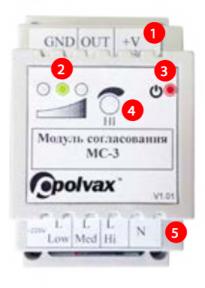 Модуль согласования МС-3 Polvax